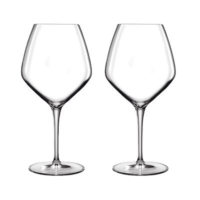 Luigi Bormioli Atelier rødvinglas Pinot Noir/Rioja 2 stk. 61 cl