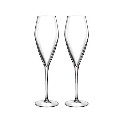 Luigi Bormioli Atelier champagneglas prosecco 2 stk. 27 cl