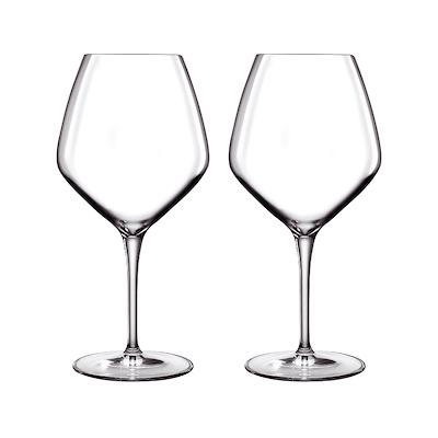 Luigi Bormioli Atelier rødvinsglas Barolo/Shiraz 2 stk. 80 cl