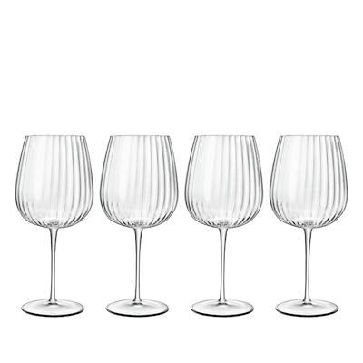 Luigi Bormioli Optica gin & tonic-glas/ vinglas 75 cl 4 stk