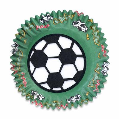 Muffinforme fodbolde