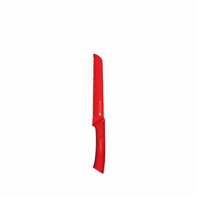 Scanpan Brødkniv 18 cm rød