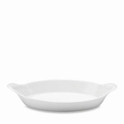 Pillivuyt oval serveringstallerken nr. 10 28 cm