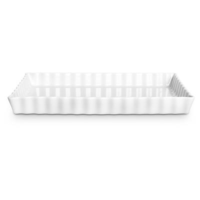 Pillivuyt tærteform rektangulær 32x22 cm
