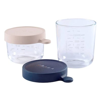 Béaba Opbevaringsglas 2 Stk.