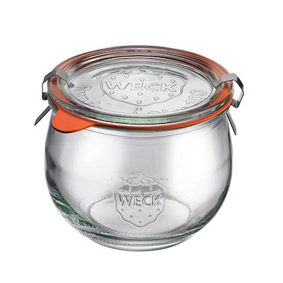 Weck opbevaringsglas 500 ml 4 stk.