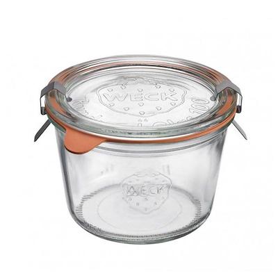 Weck opbevaringsglas 250 ml. 4 stk