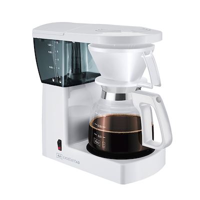Melitta Excellent kaffemaskine 4.0 hvid 10 kops