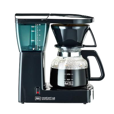 Melitta Excellent kaffemaskine 4.0 sort 10 kops