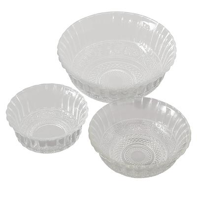 Skålesæt i glas 3 størrelser