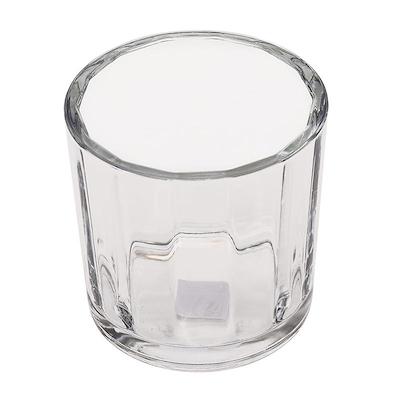 Urtepotte i glas med riller 14 cm