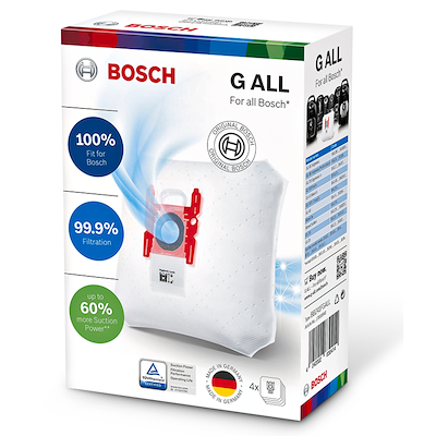 Bosch støvsugerposer Type G 4 stk