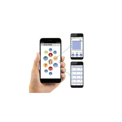 Salter elektronisk personvægt kropsanalyse tilslut til smartphone