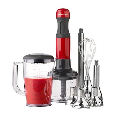 KitchenAid stavblender rød 2571EER