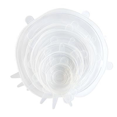 Dotz genanvendelige silikonelåg 6 stk