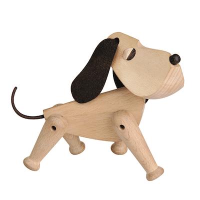 Architectmade træhund Oscar