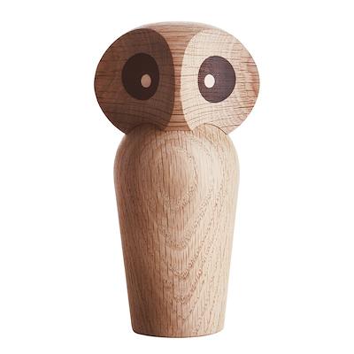 Architectmade Owl ugle lille egetræ