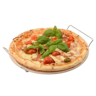 Pizza bagesten 33 cm inkl. holder
