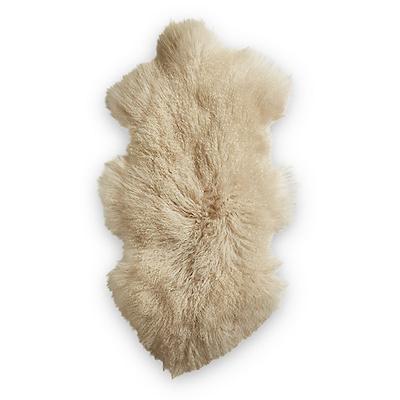 Dacore ægte lammeskind 90x50 cm råhvid