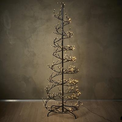 Spiral lystræ 360 LED lys