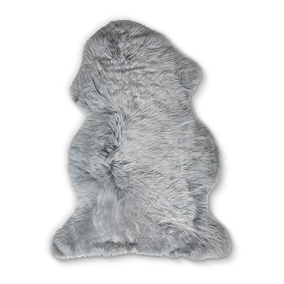 Dacore ægte lammeskind 60x90 cm grå