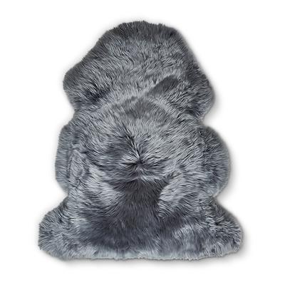 Dacore ægte lammeskind 60x90 cm mørk grå