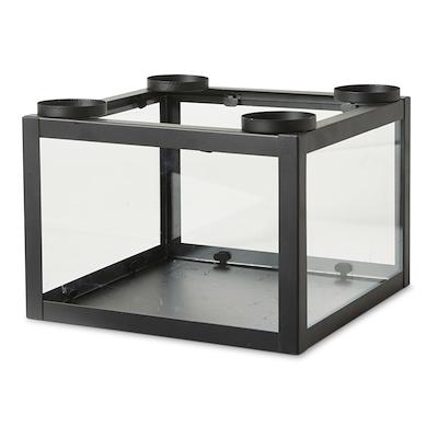 Dacore adventsstage sort metal/ glas