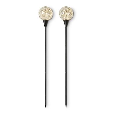 Dacore lyskugle på spyd 2 stk. 100 cm