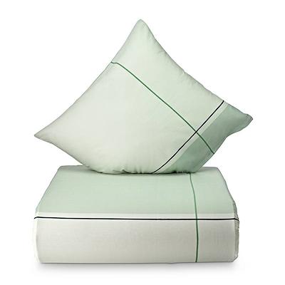 Nordisk Tekstil Detox sengesæt grøn 140x200