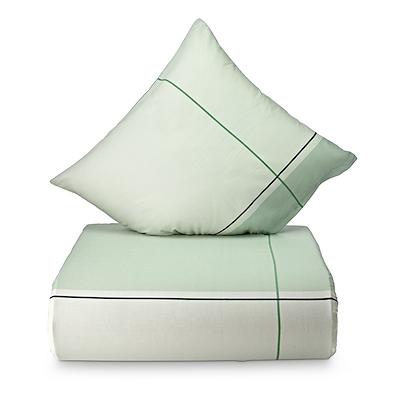 Nordisk Tekstil Detox sengesæt grøn 140x220 cm