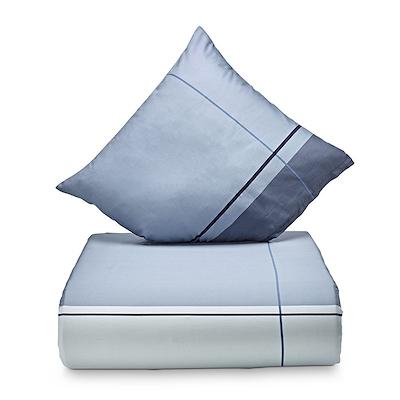 Nordisk Tekstil Detox sengesæt blå 140x200 cm