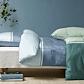 Nordisk Tekstil Detox sengesæt blå 140x220 cm