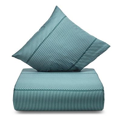 Nordisk Tekstil Jazz sengesæt grøn 140x200 cm