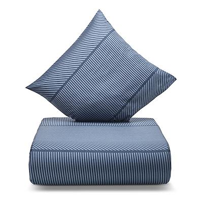 Nordisk Tekstil Jazz sengesæt blå 140x200 cm