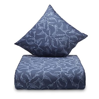Nordisk Tekstil Louise sengesæt blå 140x200 cm