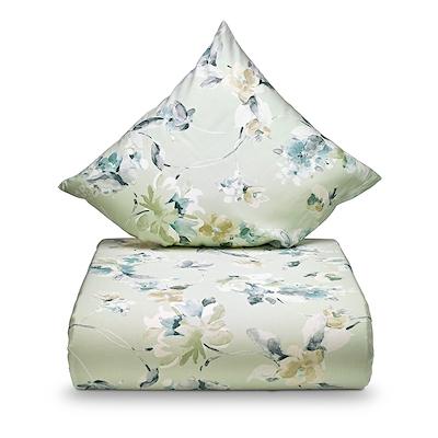 Nordisk Tekstil Cloe sengesæt grøn 140x200 cm