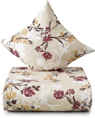 Nordisk Tekstil Ingeborg sengesæt creme 140x200 cm