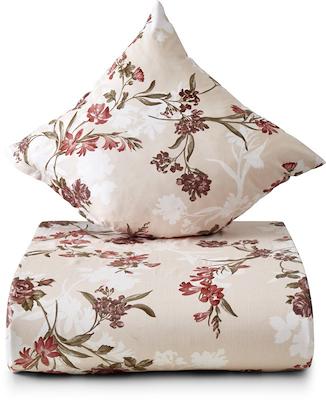 Nordisk Tekstil Ingeborg sengesæt rosa 140x220 cm