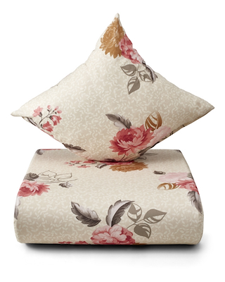 Nordisk Tekstil Summertime sengesæt creme 140x220 cm