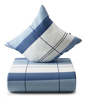 Nordisk Tekstil sengesæt interval 140x200 cm blå