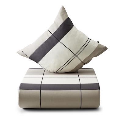 Nordisk Tekstil sengesæt interval 140x220 cm mocca