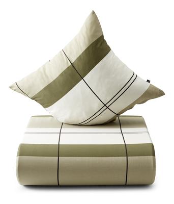 Nordisk Tekstil sengesæt interval 140x200 cm oliven