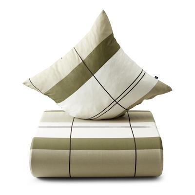 Nordisk Tekstil sengesæt interval 140x220 cm oliven