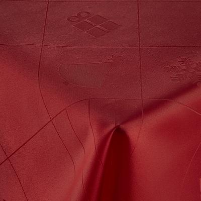 Nordisk Tekstil dug Julefred rød 140x320