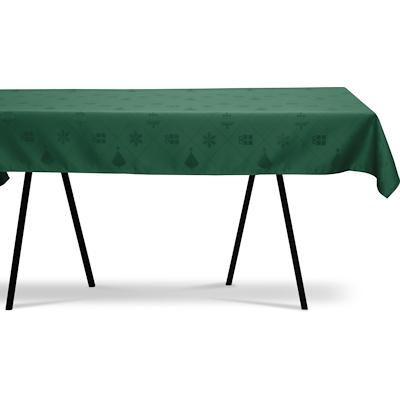 Nordisk Tekstil dug Julefred grøn 140x320 cm