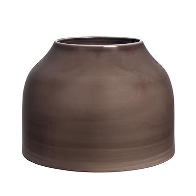 Kähler Botanica vase brun 21 cm