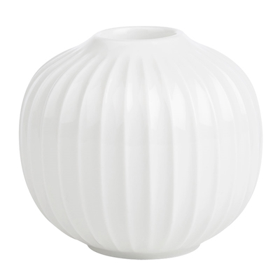 Hammershøi lysestage hvid 6,5 cm