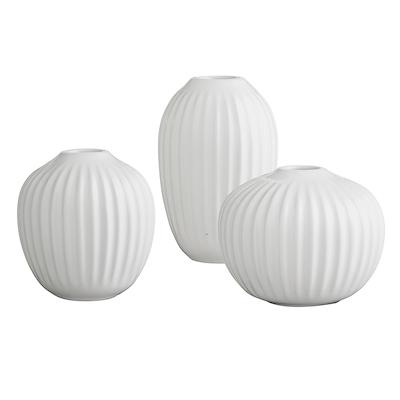 Hammershøi vase sæt 3-pak hvid