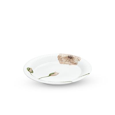Hammershøi Poppy tallerken hvid 27 cm