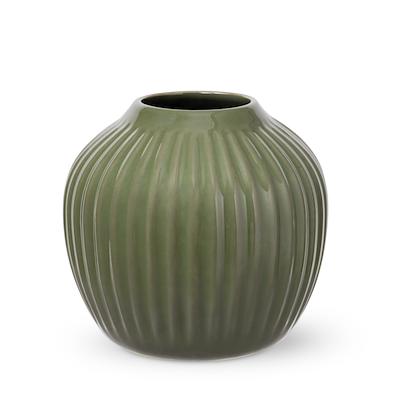 Hammershøi vase 13 cm mørk grøn